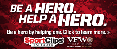 Sport Clips Haircuts of Austin - Arbor Walk​ Help a Hero Campaign